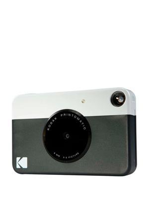PRINTOMATIC BLACK INCL ZINK PAPER VOOR 20 FOTO'S instant compact camera