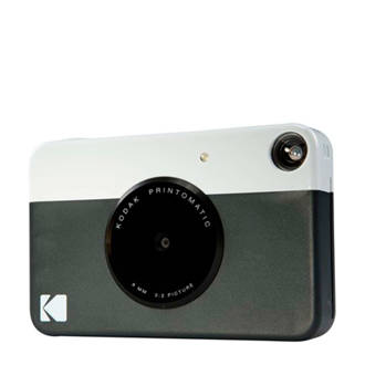 PRINTOMATIC BLACK INCL ZINK PAPER VOOR 20 FOTO'S instant compact camera
