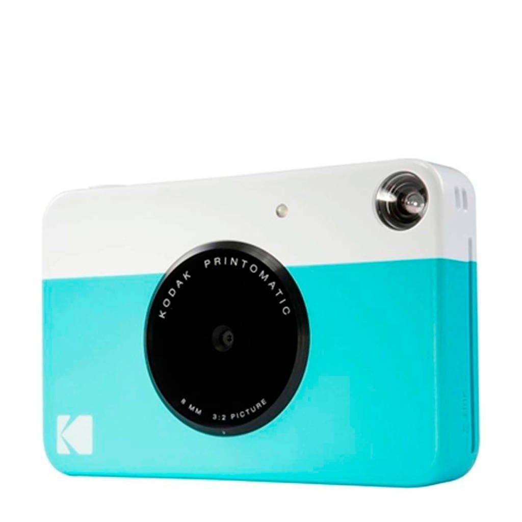 Kodak PRINTOMATIC BLUE INCL ZINK PAPER VOOR 20 FOTO'S instant compact camera