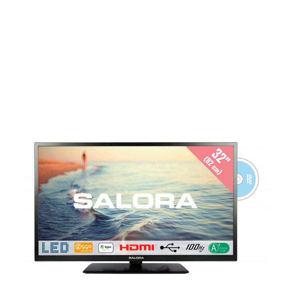Salora 32HDB5005 HD Ready tv met ingebouwde DVD speler, -
