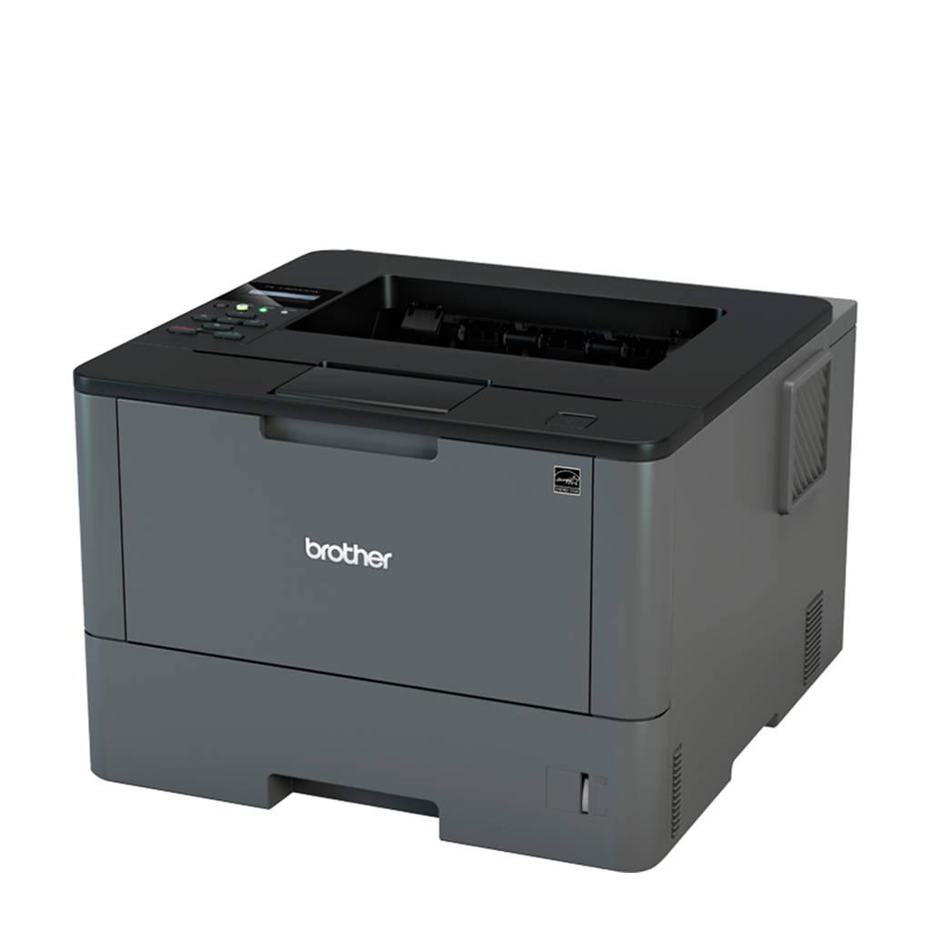 Brother HL-L5200DW zwart-witlaserprinter, Zwart, zilver