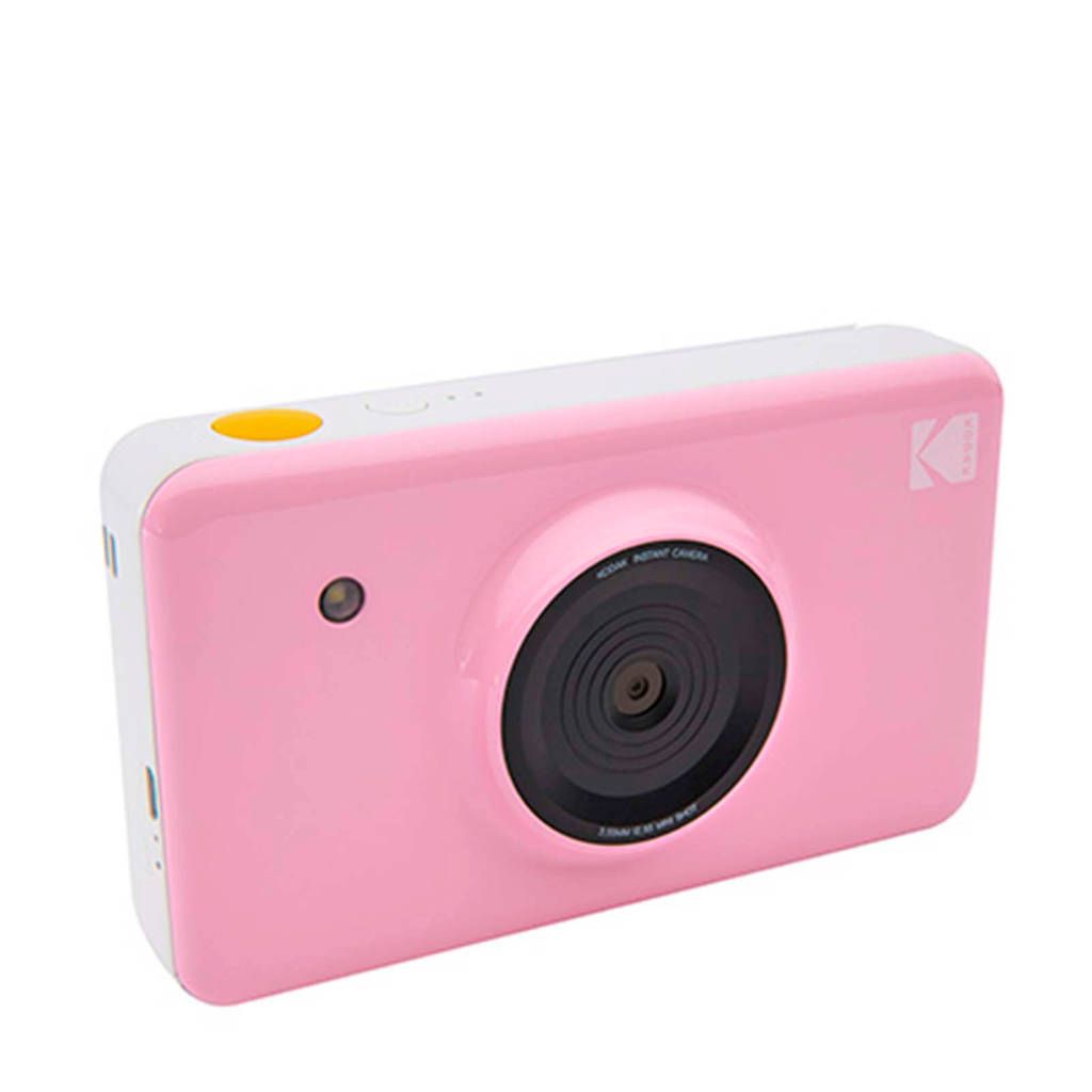Kodak MINISHOT PINK INCL DYESUB CARTRIDGE VOOR 20 FOTO'S instant compact camera