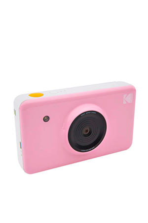 MINISHOT PINK INCL DYESUB CARTRIDGE VOOR 20 FOTO'S instant compact camera