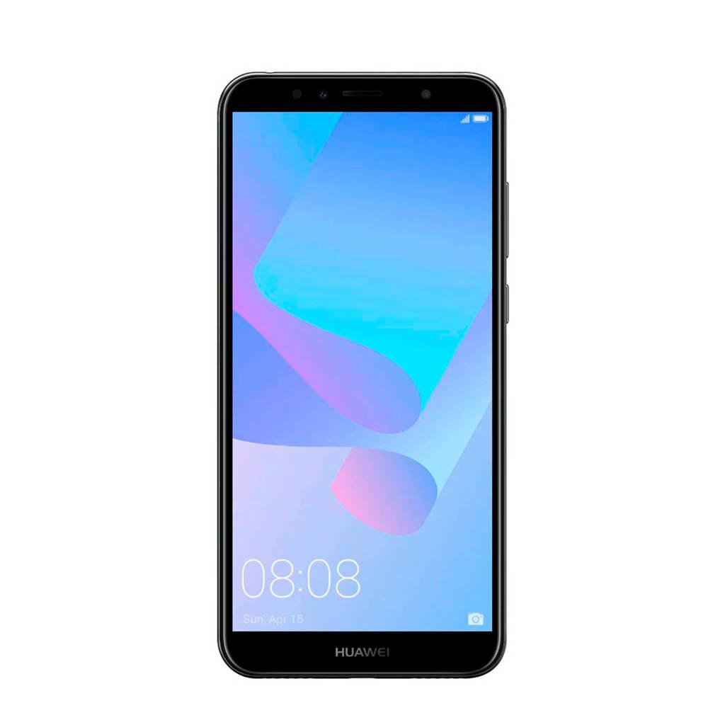 Huawei Y6 (2018) Dual-Sim, Zwart