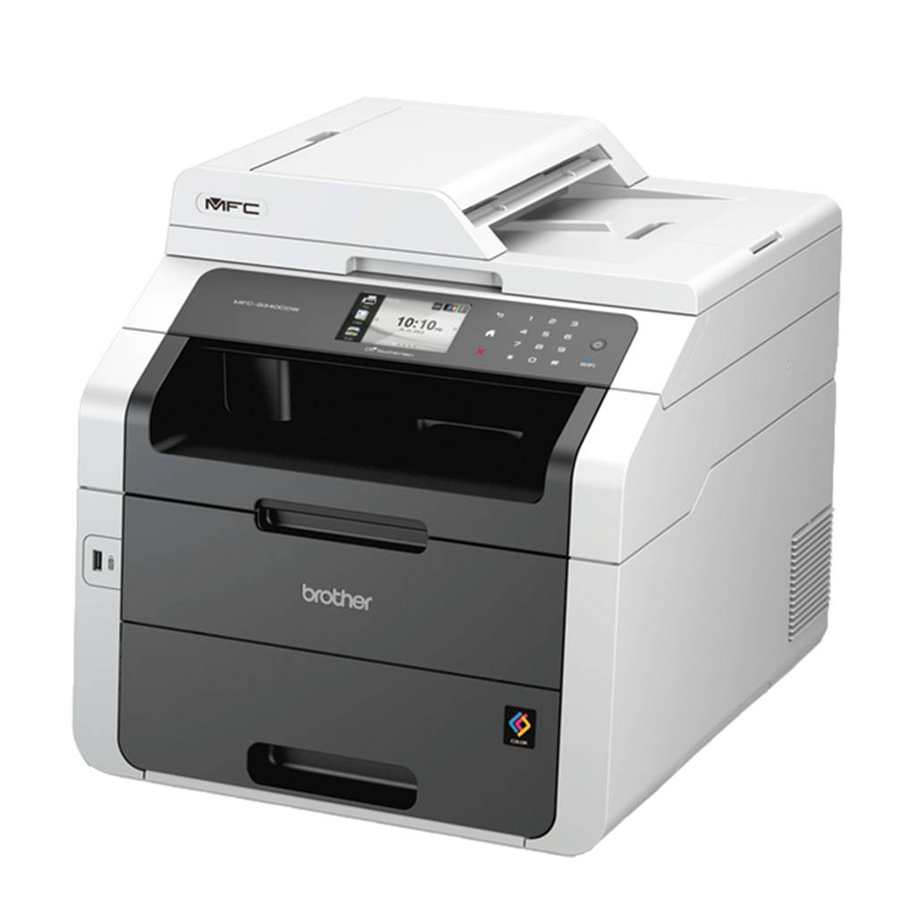 Brother MFC-9340CDW printer, Zwart, wit
