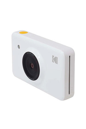 MINISHOT WHITE INCL DYESUB CARTRIDGE VOOR 20 FOTO' instant compact camera