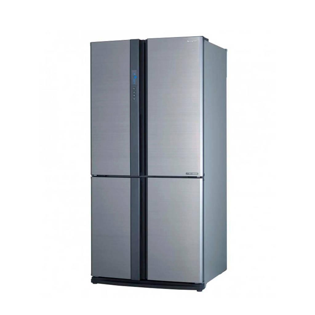 Sharp SJEX770FSL Amerikaanse koelkast, Zilver