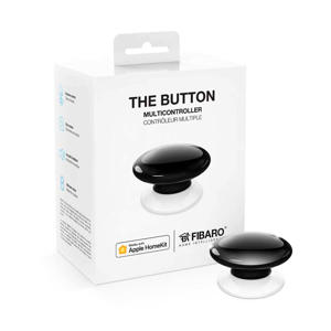 THE BUTTON WORKS WITH APPLE HOMEKIT - BLACK The Button voor Apple HomeKit
