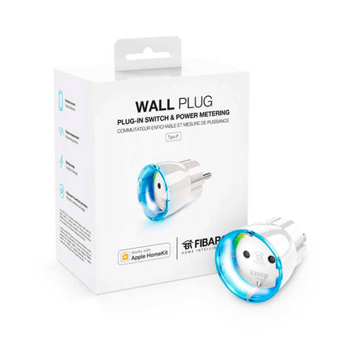 Fibaro FGBWHWPF-102 wall plug Apple HomeKit