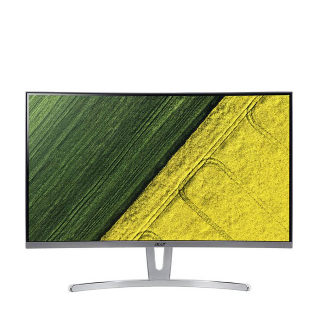 Acer ED273wimdx 27 inch Full HD curved monitor, Zilver