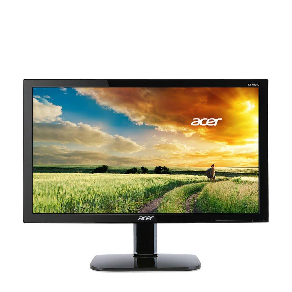 Acer KA240HQBbid 23,6 inch Full HD monitor, Zwart