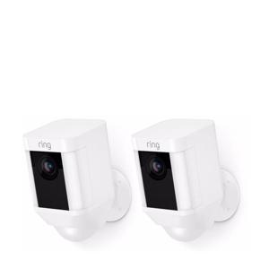SPOTLIGHT CAM BATTERY - WHITE - DUOPACK beveiligingscamera