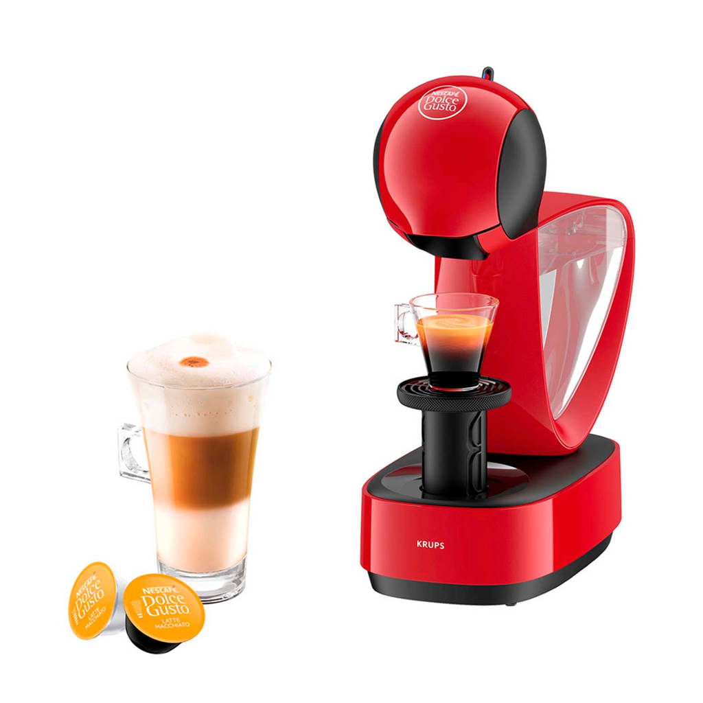 Krups KP1705 Infinissima Nescafé Dolce Gusto, Rood