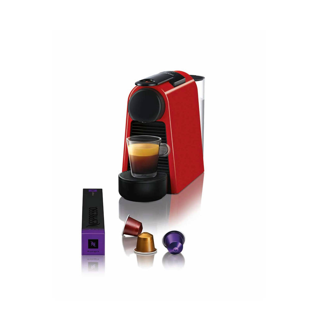 Magimix Essenza Mini Ruby Red M115 Nespresso machine, Rood