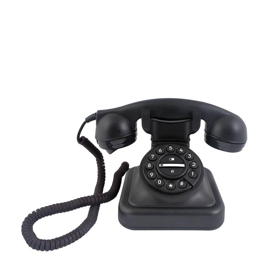 Profoon D-Sign Graham analoge huis telefoon, Zwart
