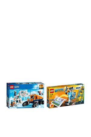 BOOST gereedschapskist 17101+ LEGO City poolonderzoekstruck 60194
