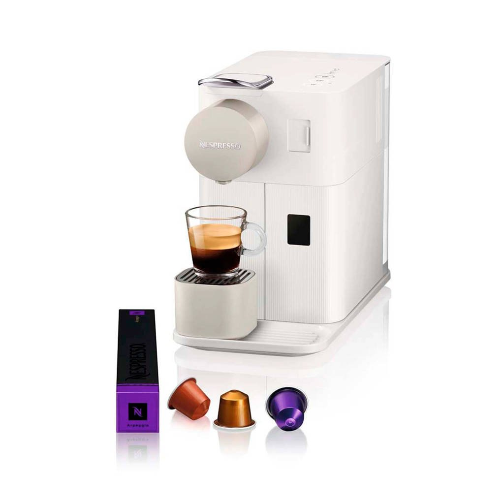 De'Longhi Lattissima One Silky White EN500.W Nespresso machine, Wit
