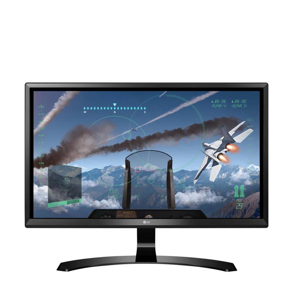 LG 24UD58-B 23,8 inch 4K Ultra HD monitor, Zwart