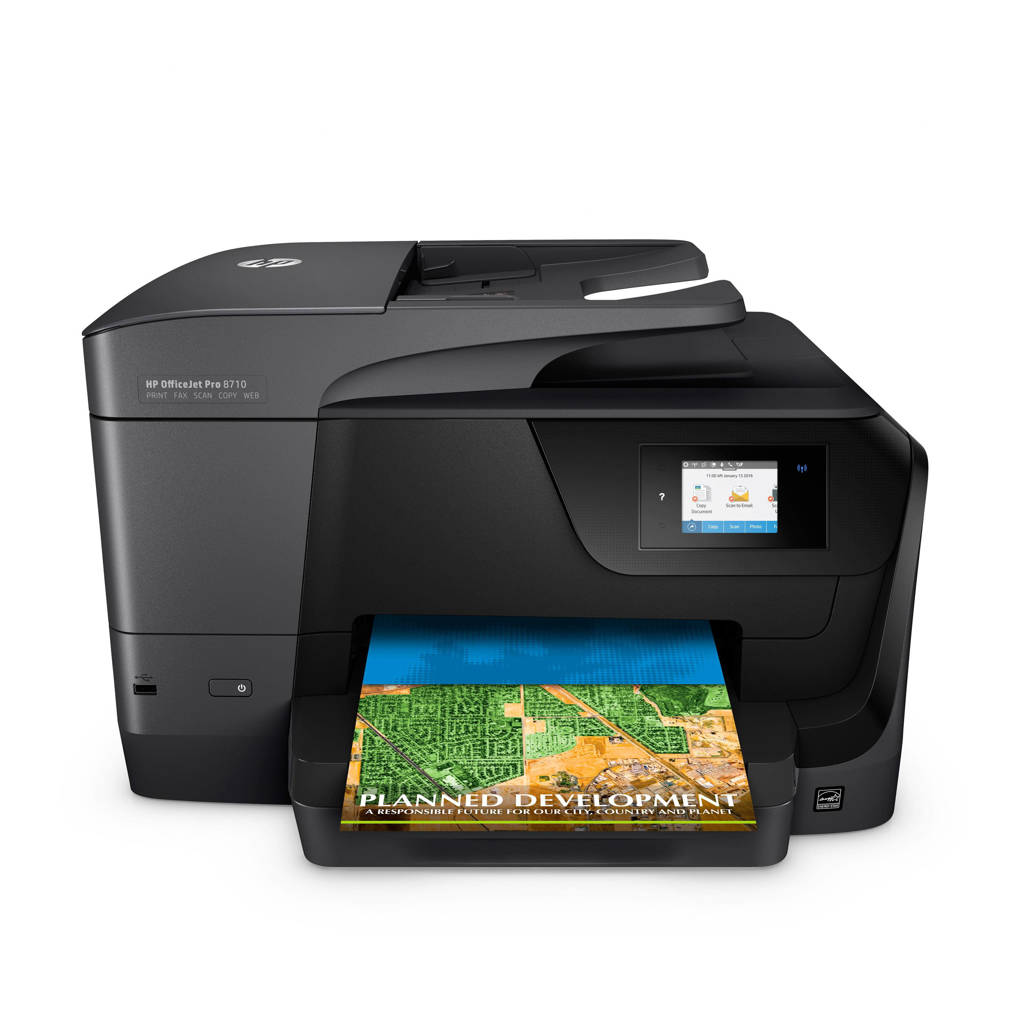 HP OfficeJet Pro 8710 all-in-one printer, Zwart
