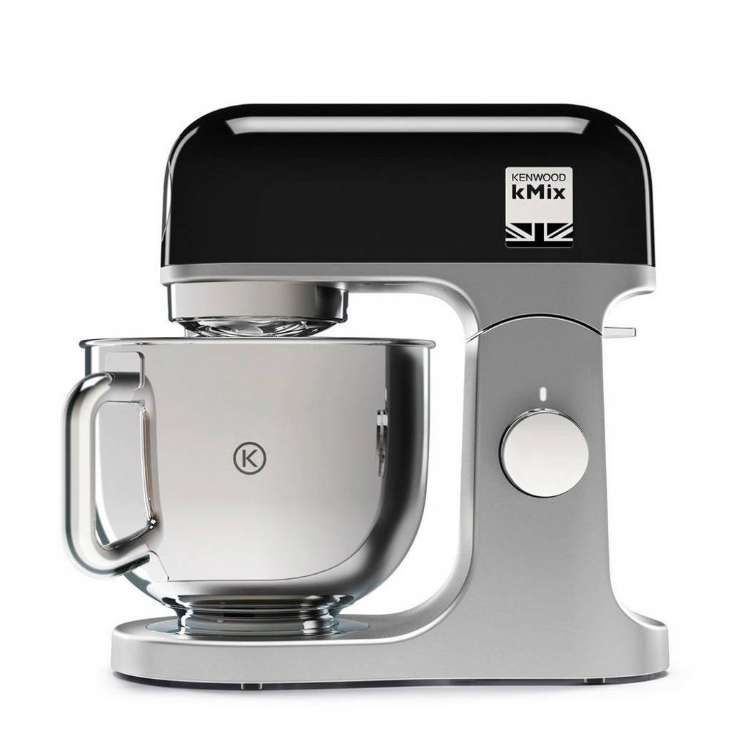 Kenwood KMX750BK kMix keukenmachine, Zwart/RVS