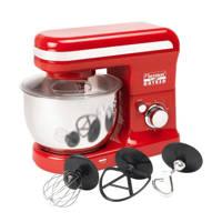 Bestron AKM500HR Hot Red keukenmachine, Rood
