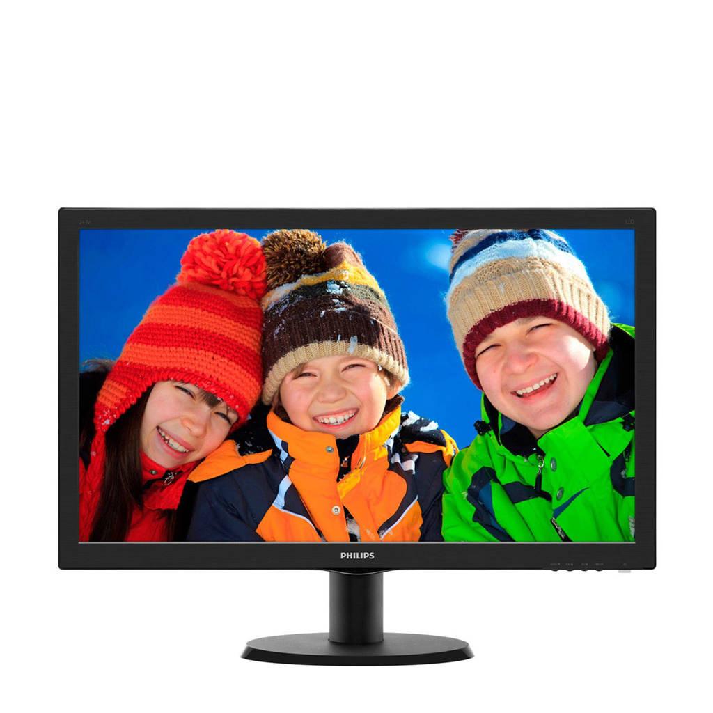 Philips 243V5LHSB 23,6 inch monitor, -