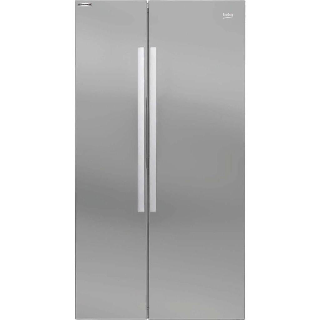 Beko GN163022S Amerikaanse koelkast, Zilver