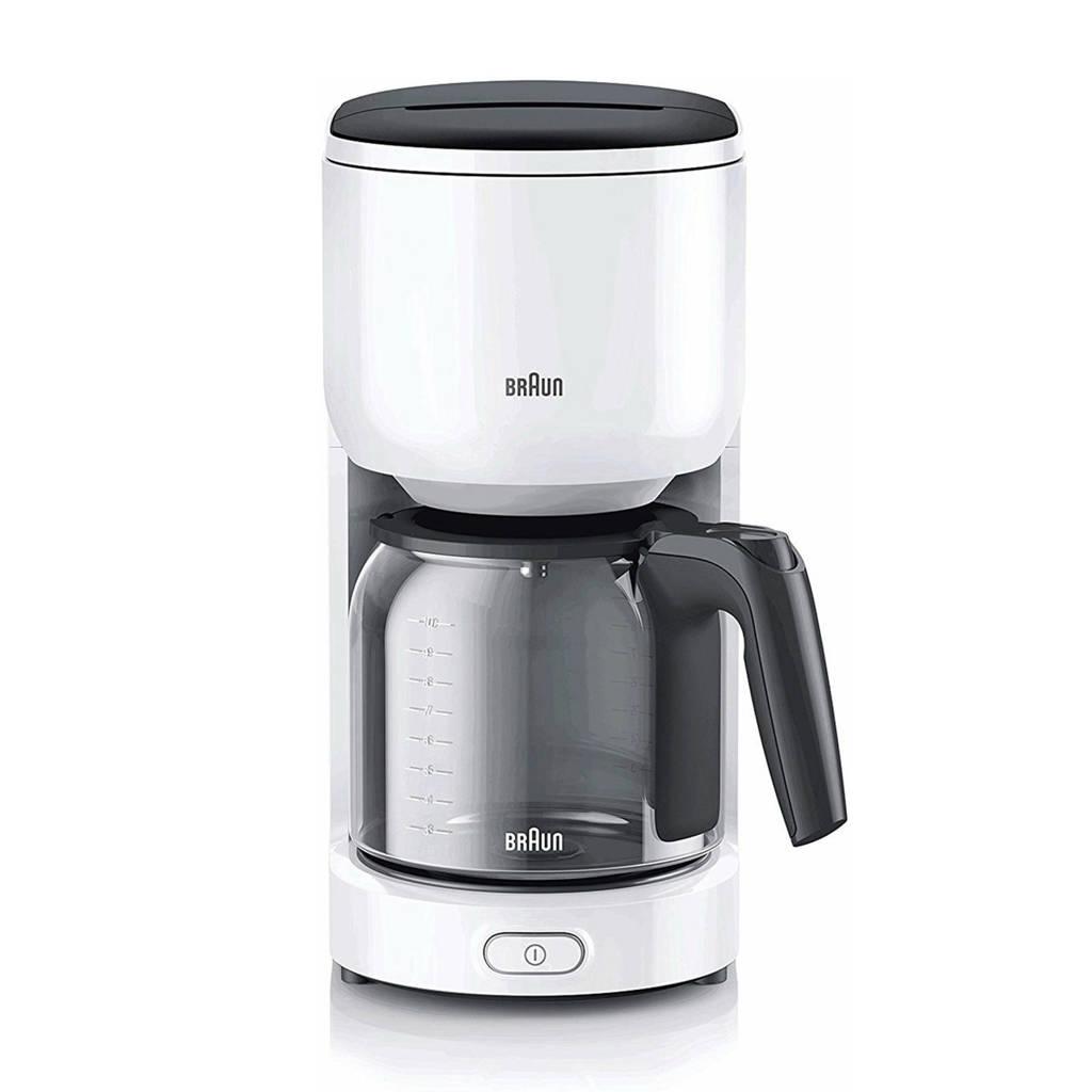 Braun KF3120WH PurEase koffiezetapparaat, Wit