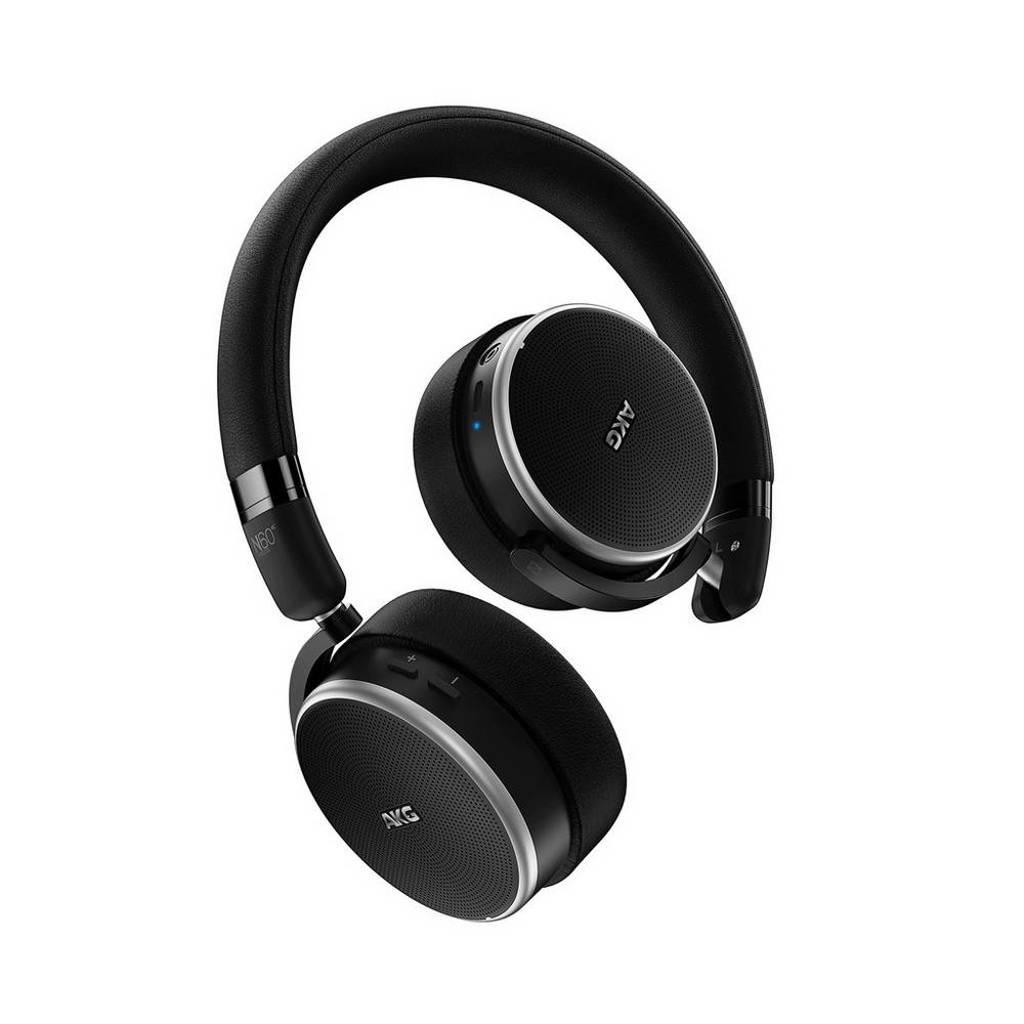 AKG N60NC on-ear bluetooth koptelefoon zwart, Zwart