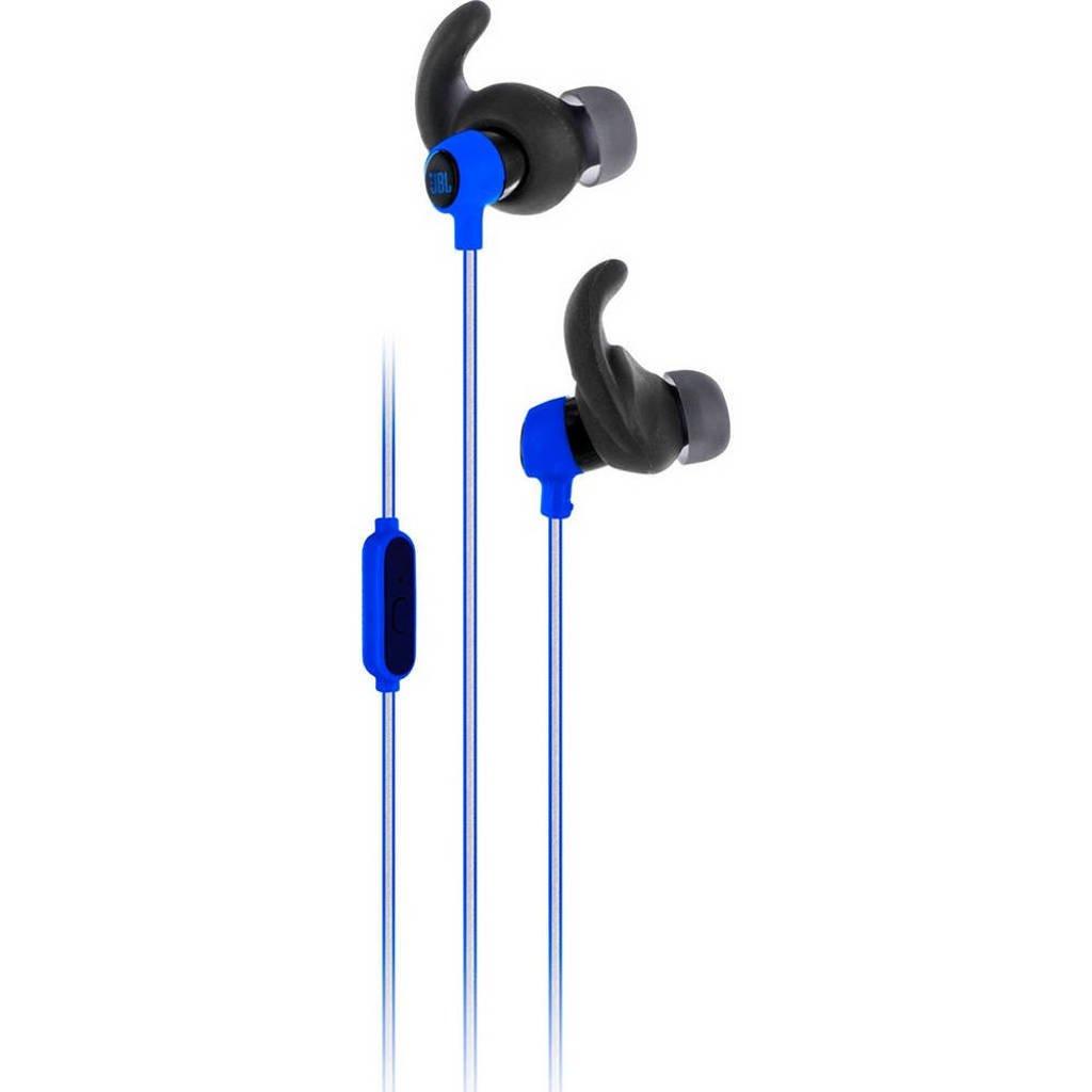 JBL Reflect Mini sport in-ear koptelefoon blauw, Blauw