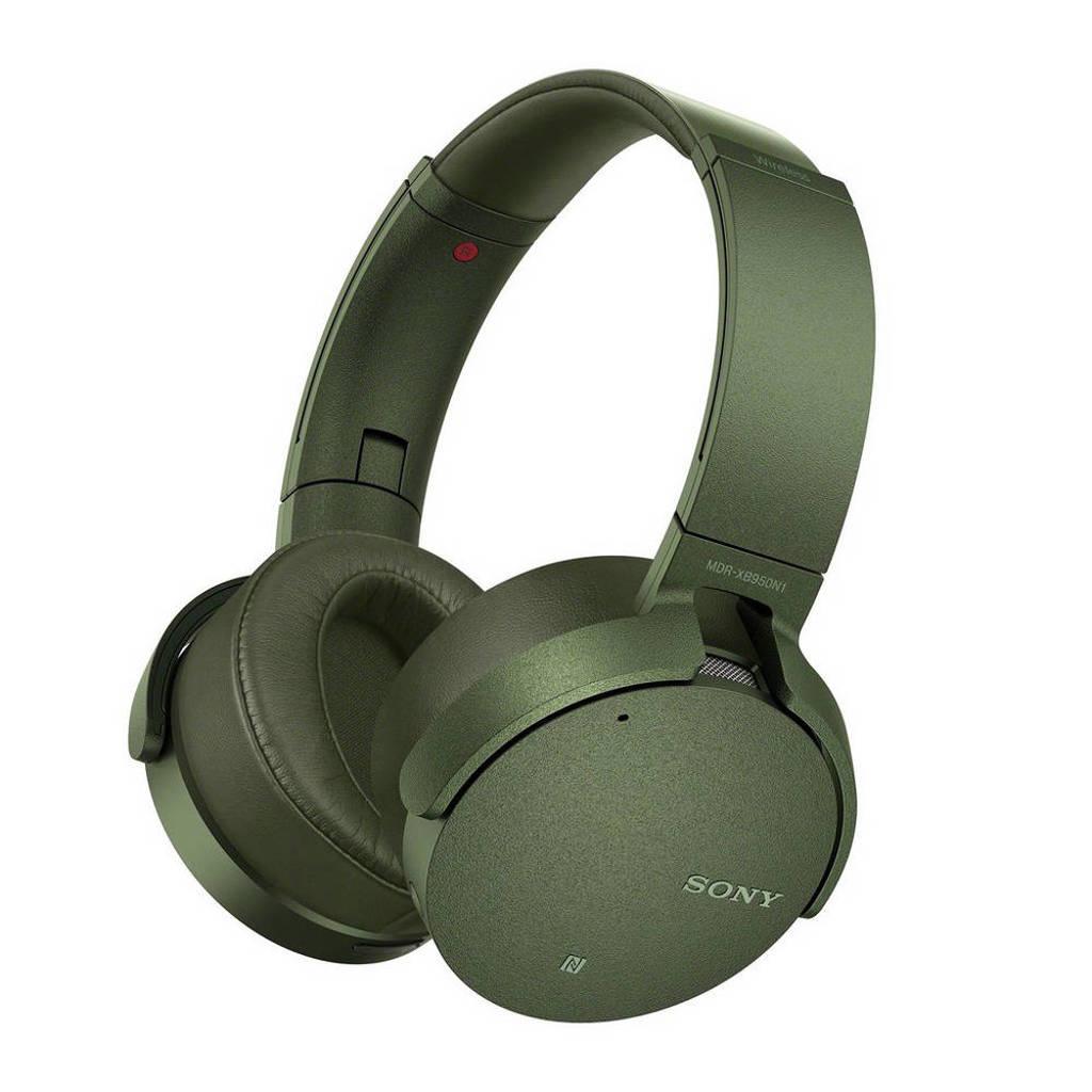 Sony MDR-XB950N1 EXTRA BASS over ear bluetooth koptelefoon groen, Groen