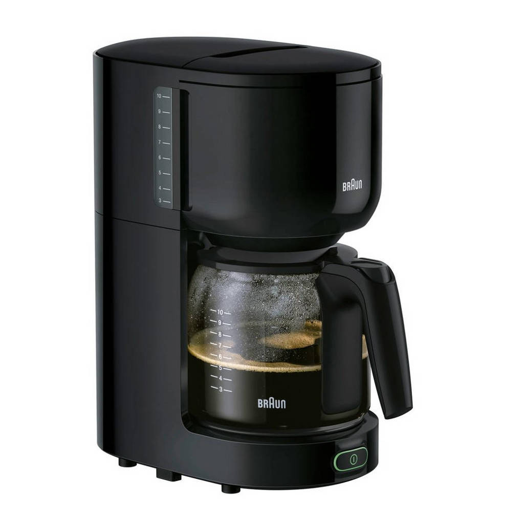 Braun KF3120BK PurEase koffiezetapparaat, Zwart