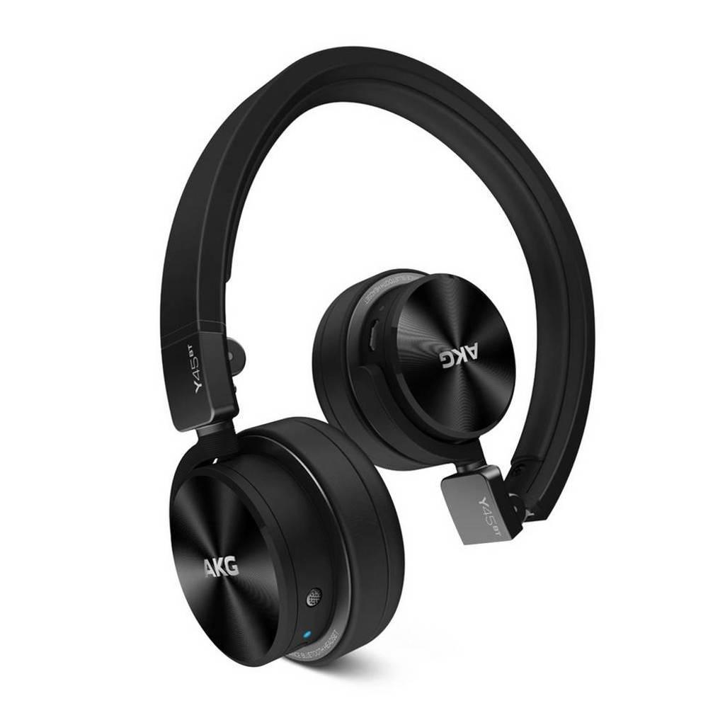 AKG Y45BT on-ear bluetooth koptelefoon zwart, Zwart