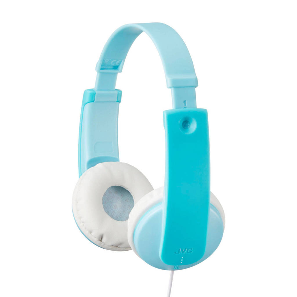 JVC HA-KD7 on-ear kinderkoptelefoon, Blauw