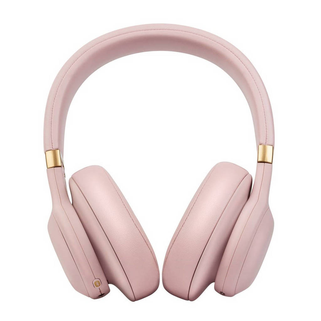 JBL E55BT Quincy Edition over-ear bluetooth koptelefoon roze, Roze