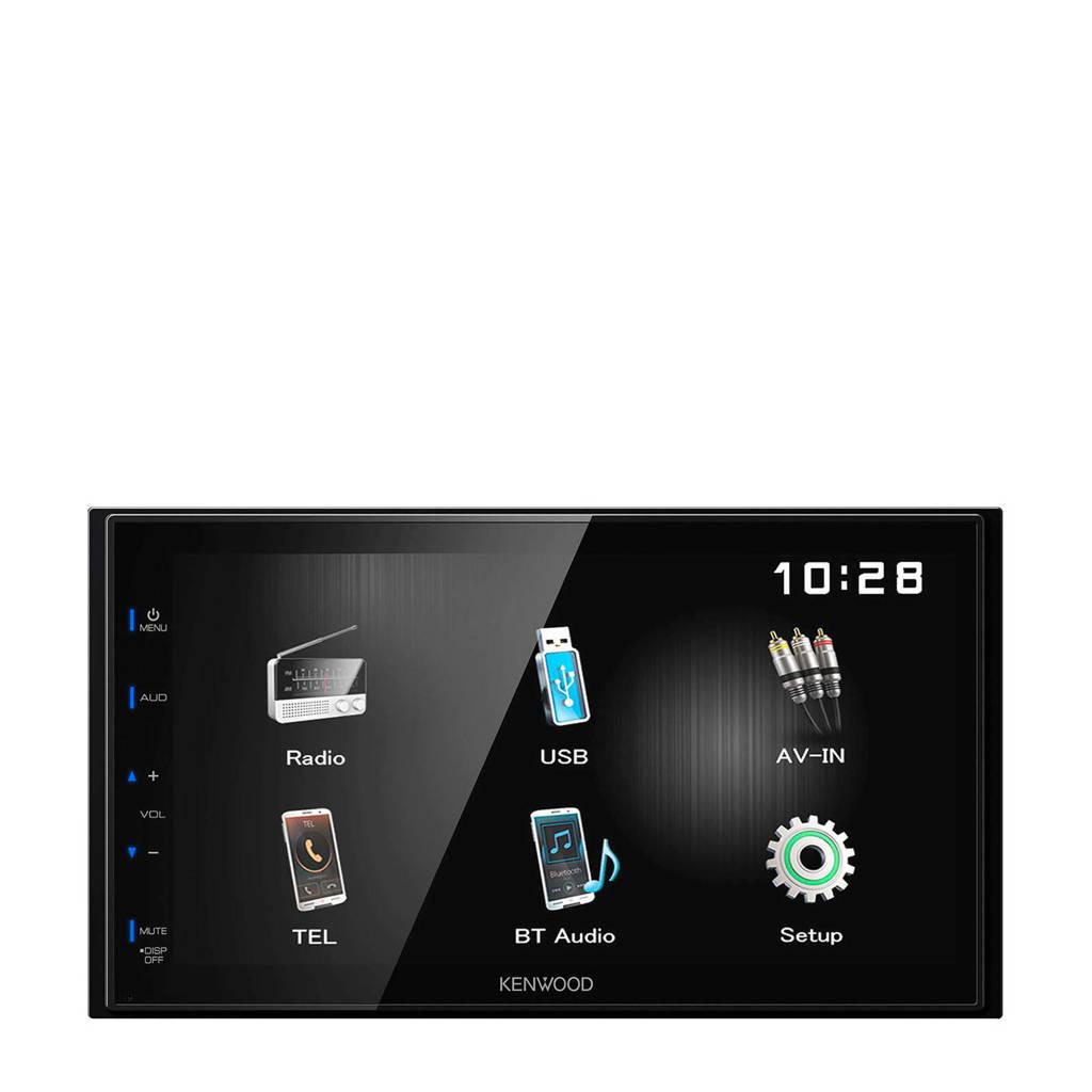 Kenwood DMX110BT 2 DIN multimedia autoradio, Zwart