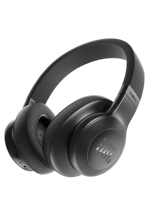 JBL E55 over ear bluetooth koptelefoon zwart, Zwart