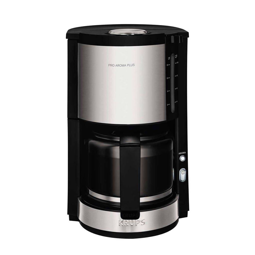 Krups KM3210 Pro Aroma Plus Pro Aroma Plus koffiezetapparaat, RVS/zwart