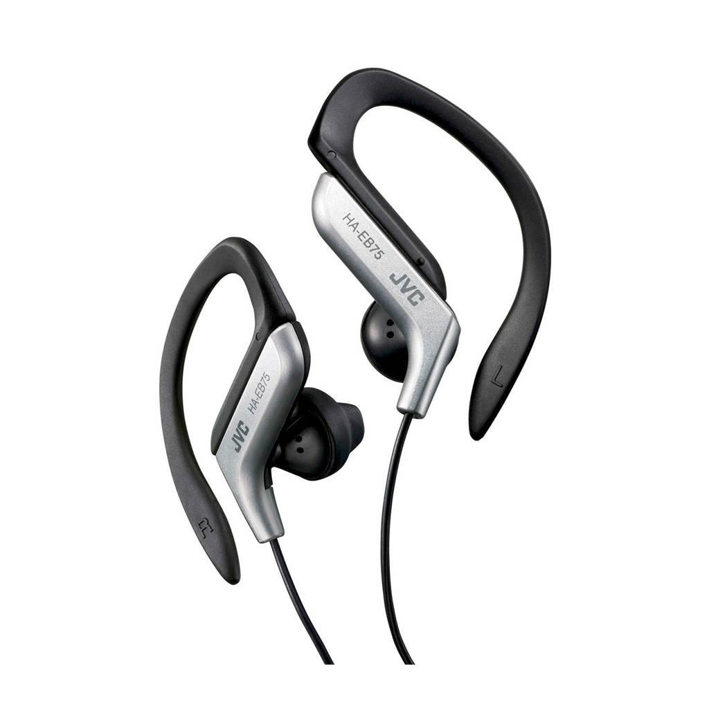 JVC HA-EB75 sport in-ear koptelefoon zilver, Zwart, zilver