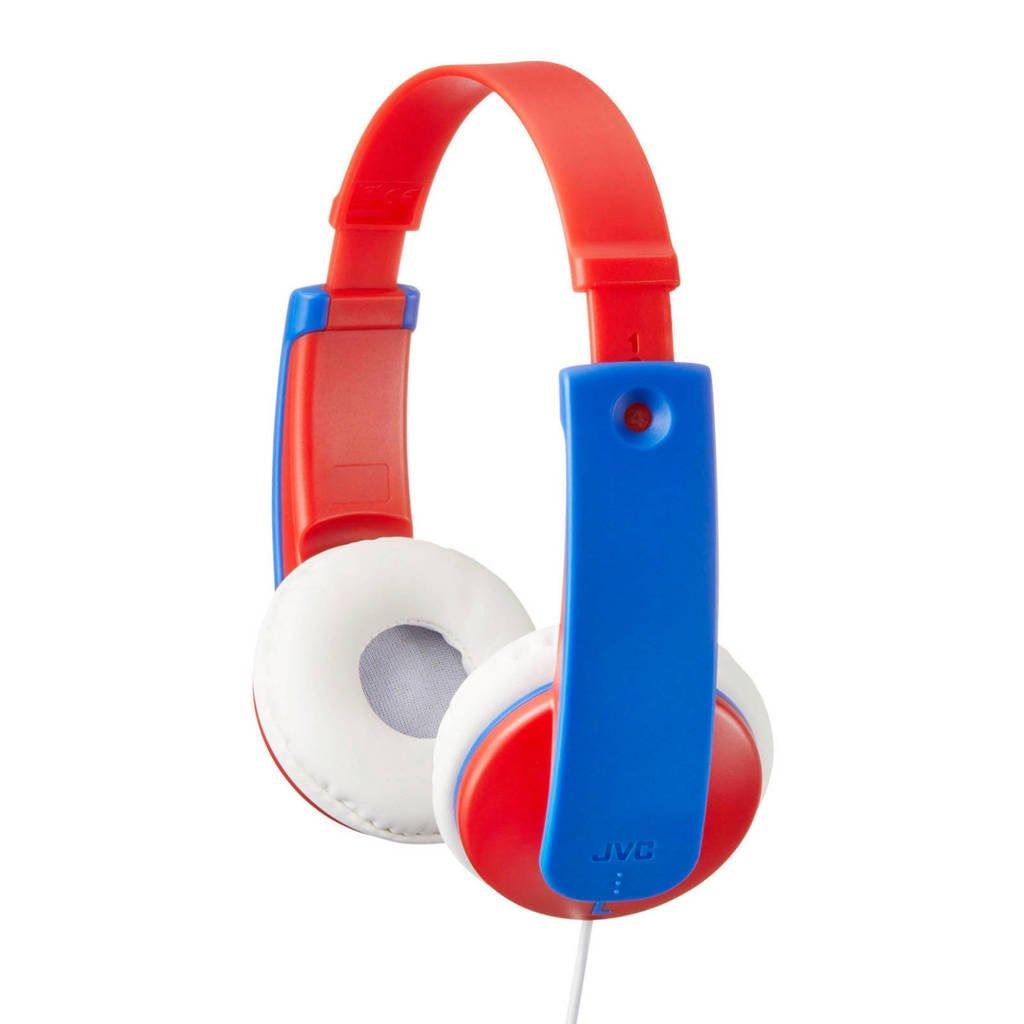 JVC HA-KD7 on-ear kinder hoofdtelefoon rood, Rood