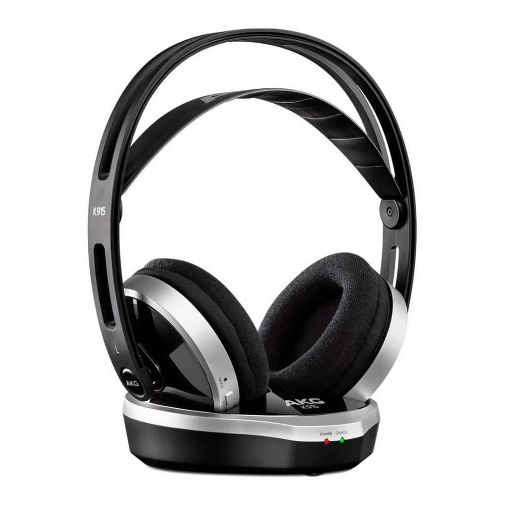 AKG K 915 draadloze over ear koptelefoon, Zwart