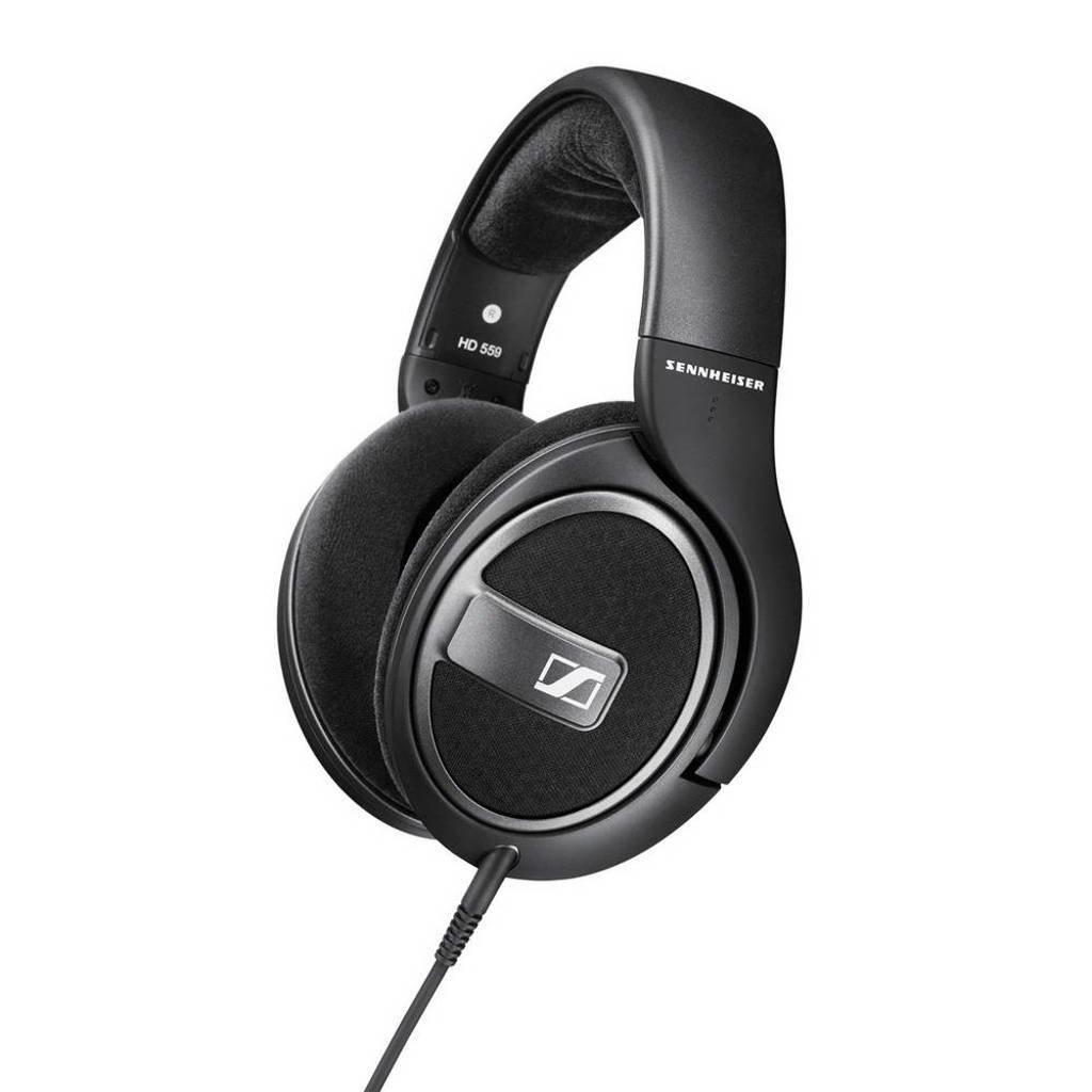 Sennheiser HD 559 over ear koptelefoon zwart, Zwart