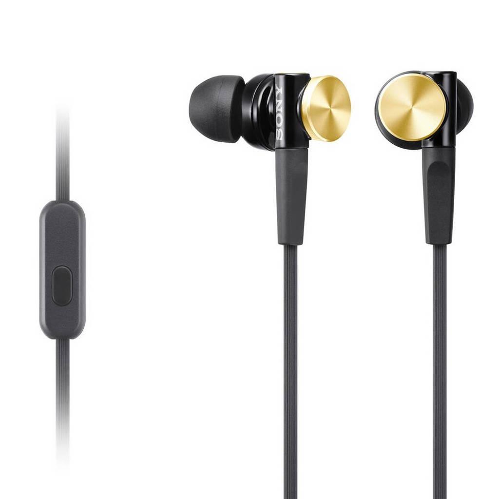 Sony MDR-XB70AP in-ear koptelefoon goud, Black,Gold