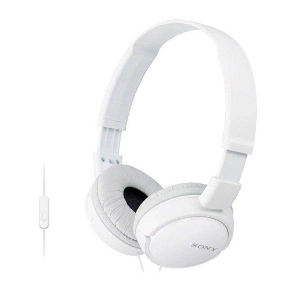 Sony ZX110AP on-ear koptelefoon wit, Wit