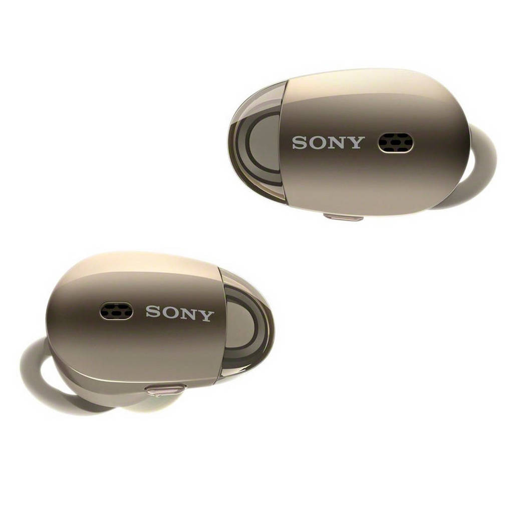 Sony In-ear bluetooth koptelefoon met Noise Cancelling WF-1000XB Goud