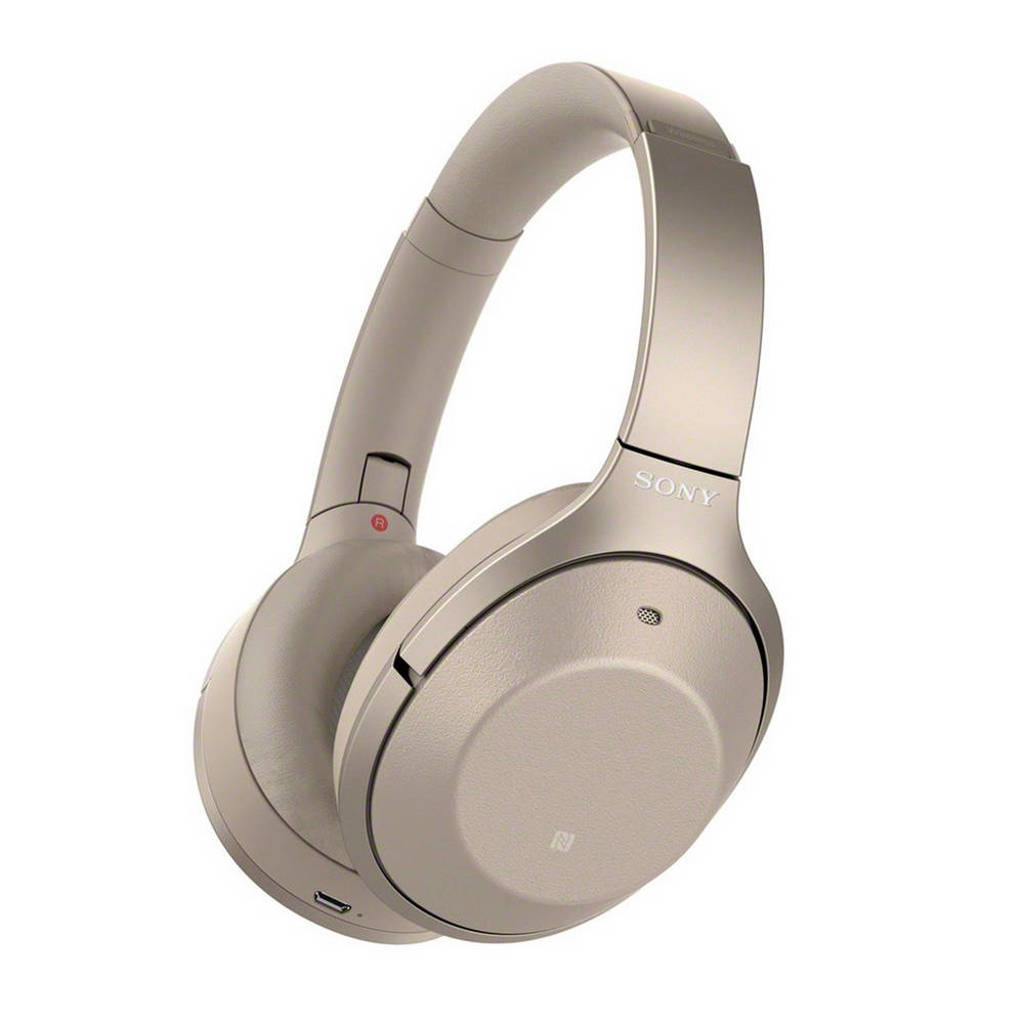 Sony WH-1000XM2N over-ear bluetooth koptelefoon met Noise Cancelling goud, Goud