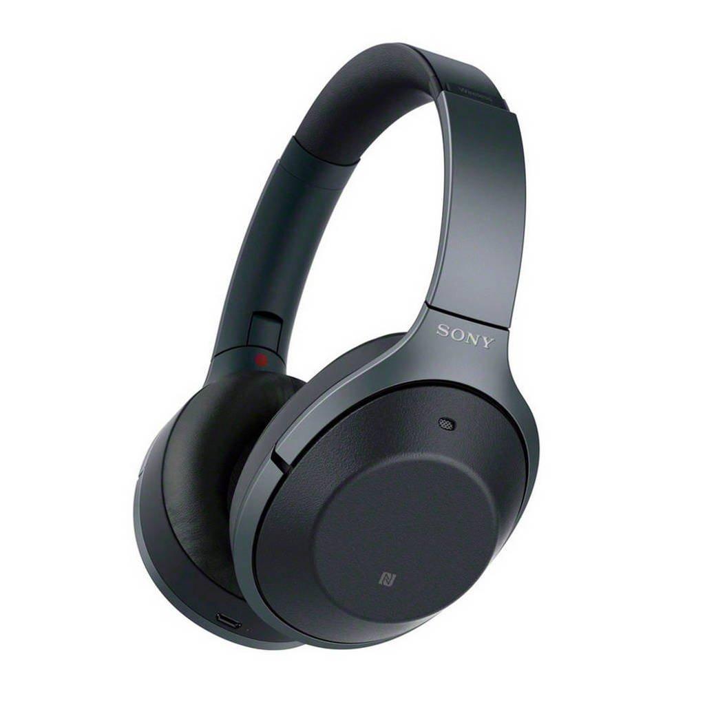 Sony WH-1000XM2B over-ear bluetooth koptelefoon met Noise Cancelling zwart, Zwart