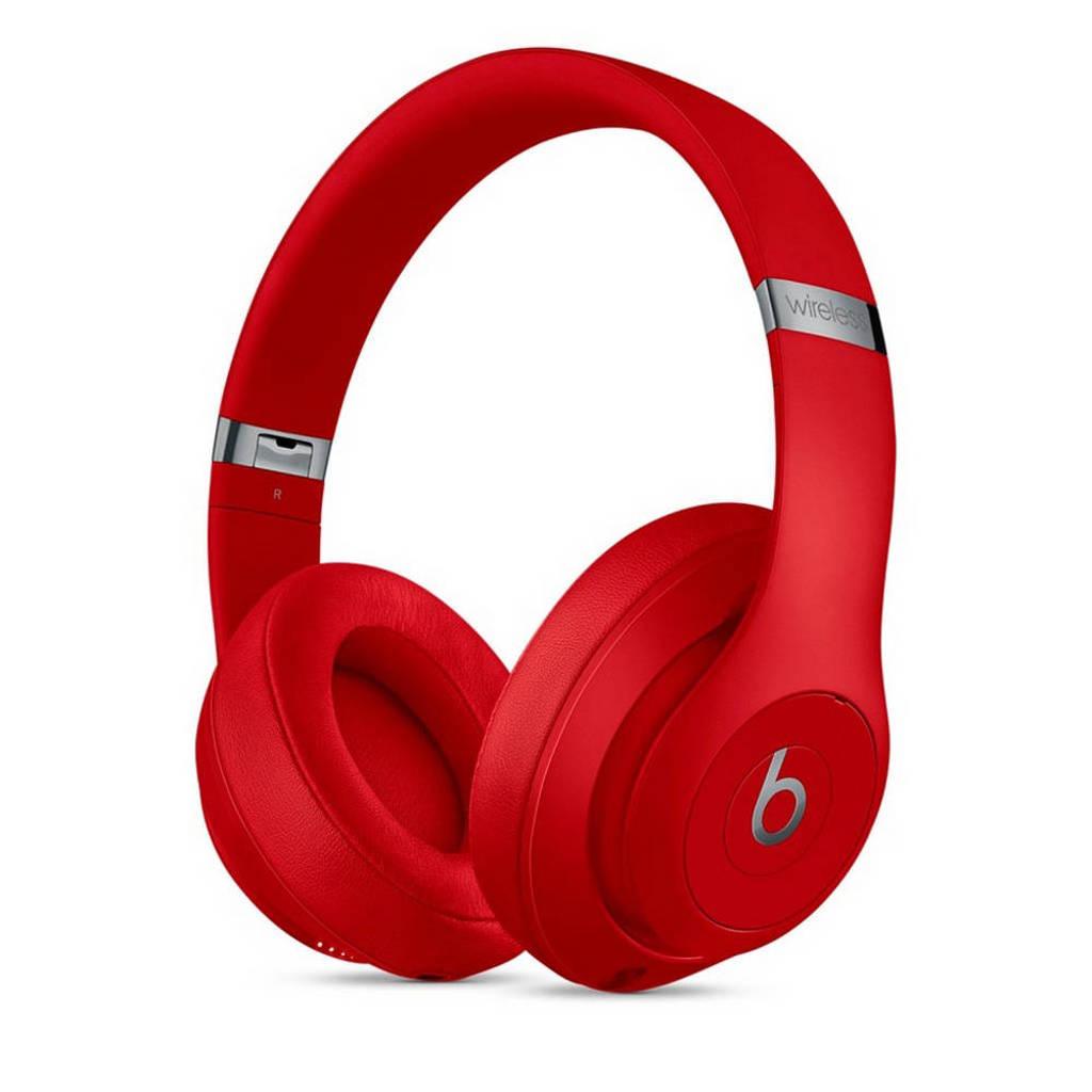 Beats Studio3 Wireless over ear bluetooth koptelefoon, Rood