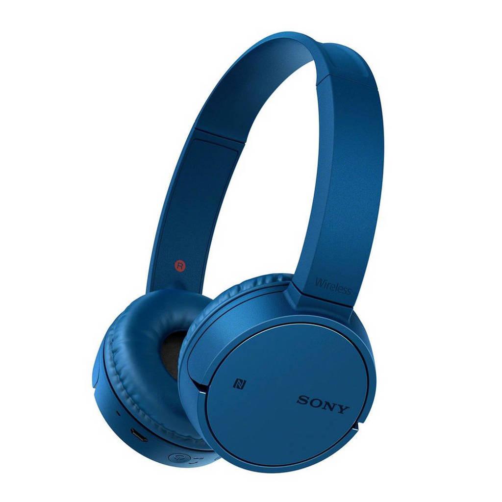 Sony MDR-ZX220BT on-ear bluetooth koptelefoon blauw, Blauw