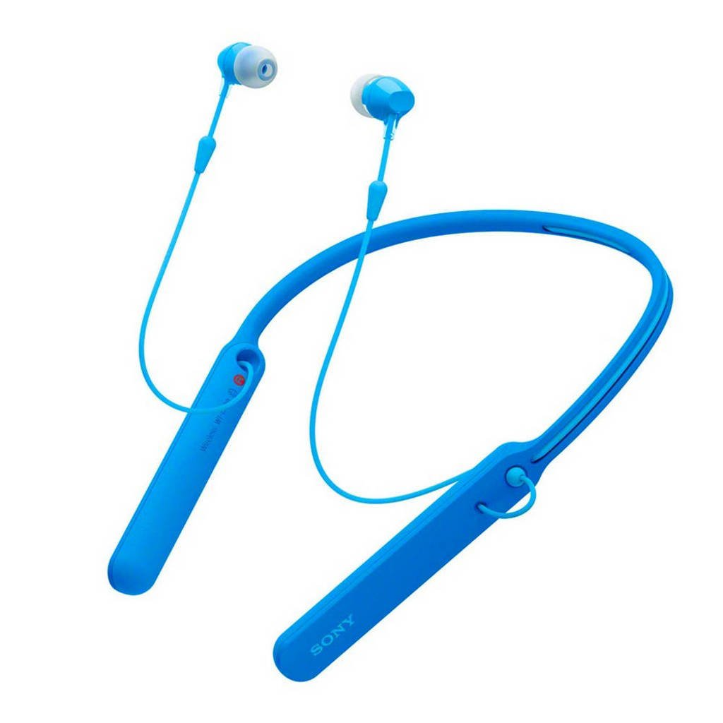 Sony In-ear bluetooth koptelefoon WI-C400 Blauw